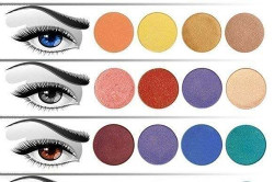 Цвет макияжа под цвет глаз