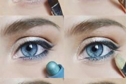 Нанесение макияжа для голубых глаз
