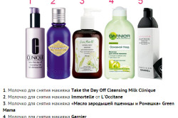 Разновидности средств для снятия макияжа