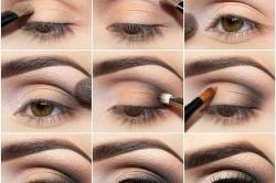 Этапы выполнения вечернего макияжа