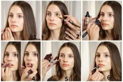 Этапы летнего макияжа