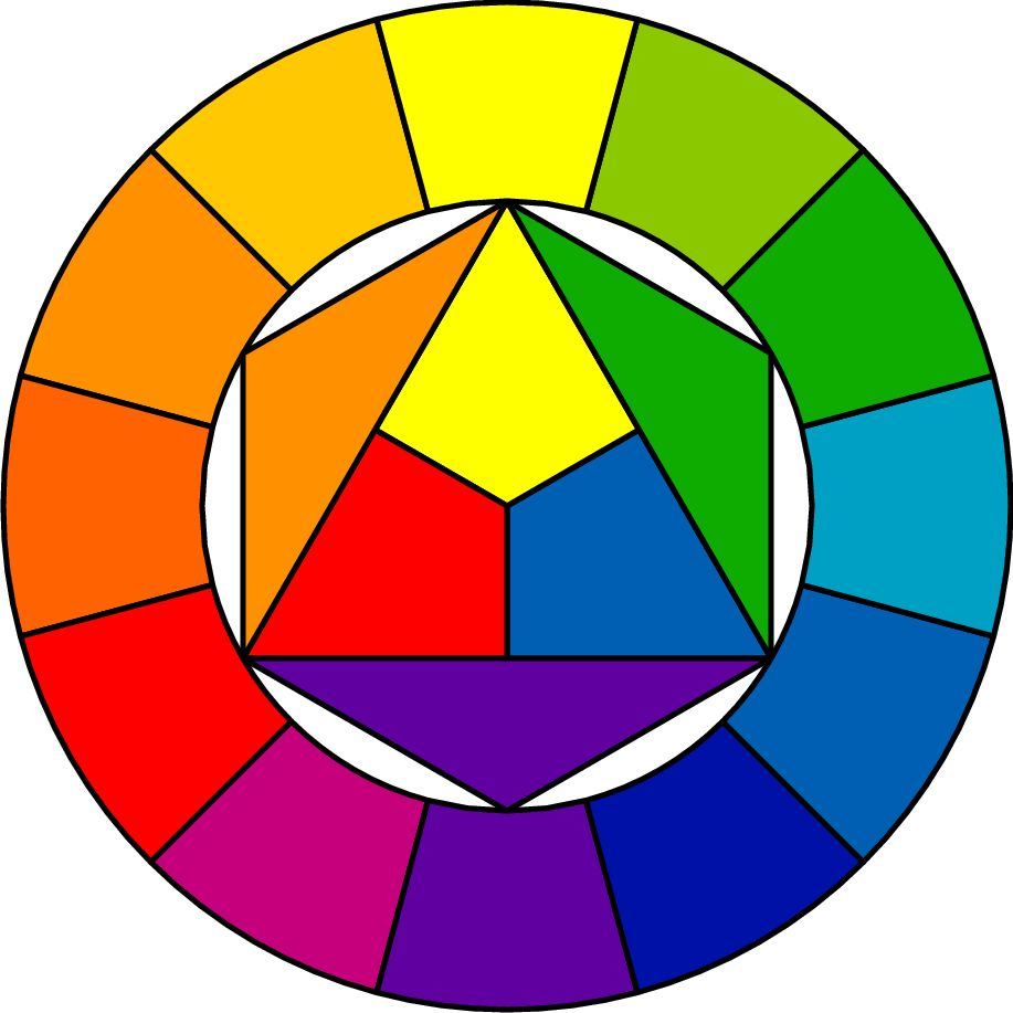 Color Wheel Vector Art Free Download