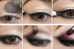 Макияж для круглой формы глаз