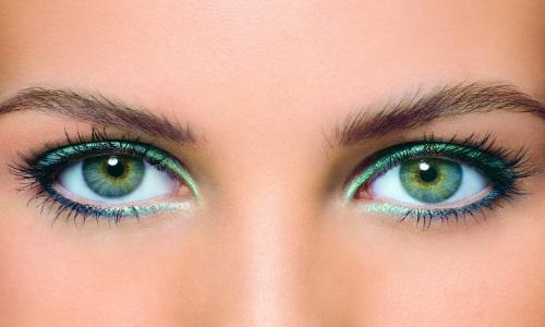 Чарующий макияж для зеленых глаз