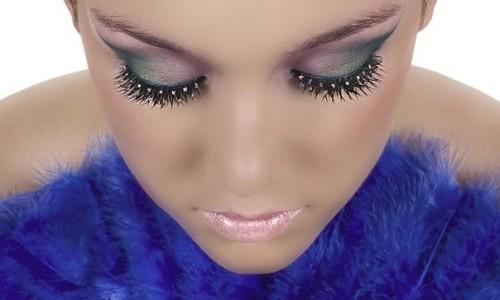 Красивый макияж для бальных танцев