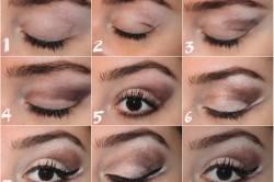 Этапы нанесения египетского макияжа