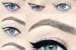 Стрелки на глазах в китайском стиле