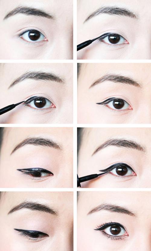 Видео макияж для азиаток