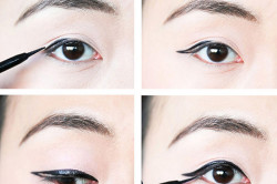 Стрелки для азиатских глаз