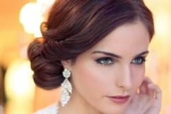 Элегантный стиль для свадебного макияжа