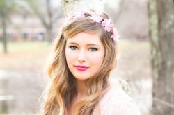 Свадебный макияж в определенной цветовой гамме