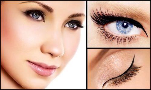 Аккуратный перманентный макияж глаз