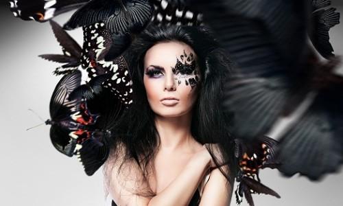 Необычный макияж на хеллоуин