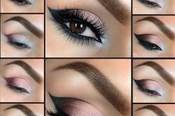 Макияж глаз для близоруких