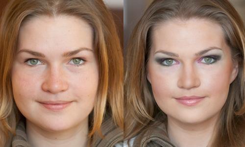 Как с помощью макияжа сделать лицо худее фото 782