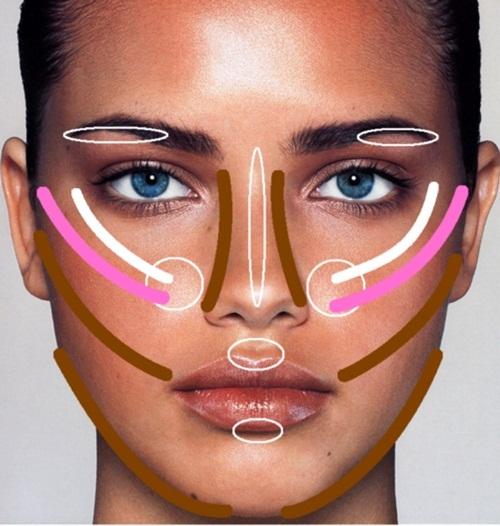Как правильно наносить макияж от а до я: фото, видео 7