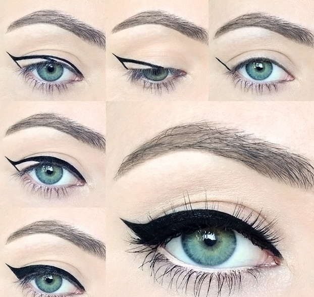 красивый макияж фото со стрелками